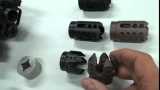 Which Muzzle Break to get for your Kel-Tec KSG Shotgun? By Hi-Tech Custom