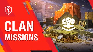 WoT Blitz. Clan Missions: New Rewards Every Week!