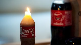 DIY เทียน Coca Cola แบบง่ายๆ ไม่ซ้ำใคร