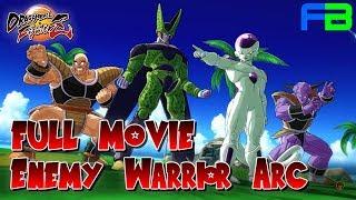 Dragon Ball FighterZ - Full Movie: Enemy Warrior Arc - All Cutscenes and Cinematics