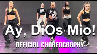KAROL G - Ay, DiOs Mio! Official music video choreography by Greg Chapkis