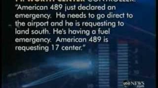 Low Fuel Emergency AA Flt 489