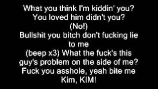 Eminem Kim Eigentlich Der Ganze Track Rappt Halt Druber Seine Frau Exfrau Umzubringen