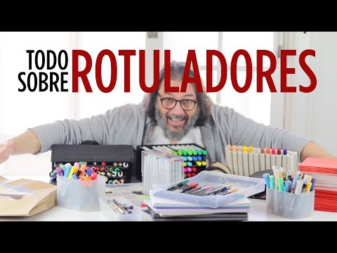 EL MUNDO DE LOS ROTULADORES | DIBUJANDO con ROTULADORES en papel kraft #QuédateEnCasa y #dibuja