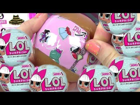 Видео для Детей. ЗОЛОТОЙ ШАРИК! Сюрприз Игрушки #LOL BABY DOLLS Игрушки Меняющие Цвет
