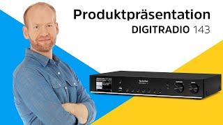 DIGITRADIO 143 | Hi-Fi-Komponente für den Empfang von DAB+, mit Streamingfunktionen | TechniSat