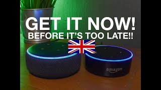 GET IT NOW! Delivery Dates Pushed Back! Amazon Echo Dot (UK ONLY)