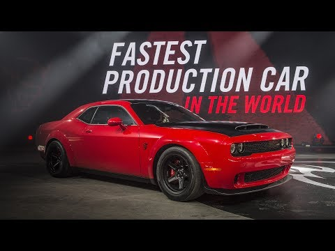 TOP 10 MODERN MUSCLE CARS 2018
