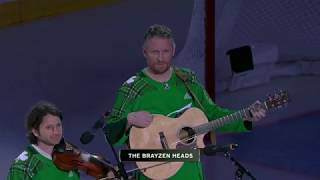 National Anthem Performed On A Violin And Guitar By The Brayzen Heads Bruins Vs Lightning