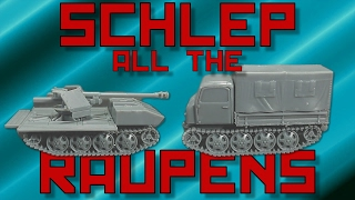 PSC German PaK 40 and Raupenschlepper Tractor [15mm]