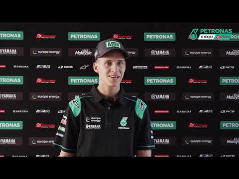 Fabio Quartararo talks about his first MotoGP podium