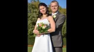 Svatební foto - Monika a Rosťa (hudba: Seal - Kiss from a Rose)