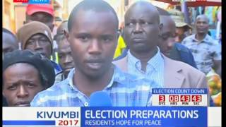 Election Preparation : Eldoret residence weigh in the political landscape