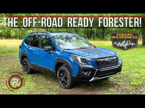 The 2022 Subaru Forester Wilderness Is A Lifted More Off-Road Capable SUV