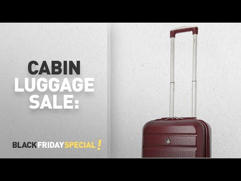 Top Black Friday Cabin Luggage Sale: Aerolite Super Lightweight ABS Hard Shell Travel Carry On Cabin