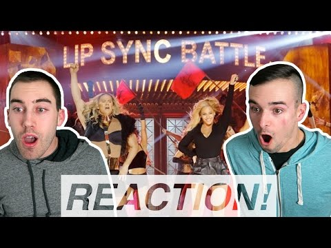 Channing Tatum & Beyonce vs Jenna Dewan Tatum | Lip Sync Battle REACTION