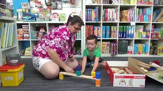 Let The Children Play- Hape Quadrilla Marble Run Toy Review