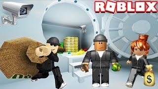 ROBBING A BANK IN ROBLOX