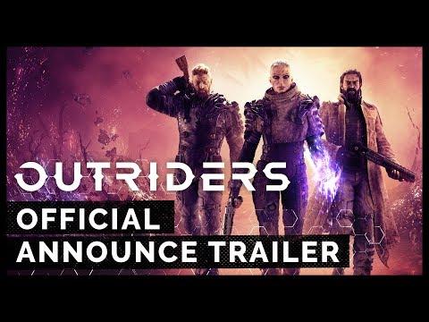 Square Enix 全新遊戲《Outriders》釋出官方預告片!確定是第三人稱合作射擊遊戲