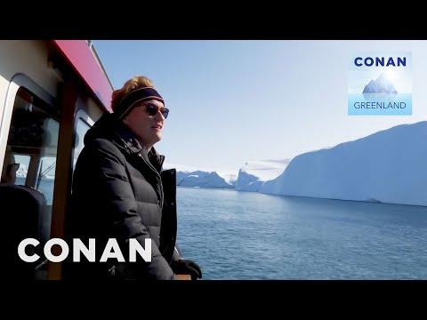 Conan v Grónsku #5: Koupě pozemku u moře - CONAN