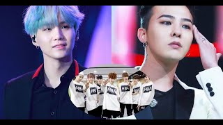 BTS Suga's Story Of Being Unable To Answer G-Dragon's Question Made Fans Heart Broken