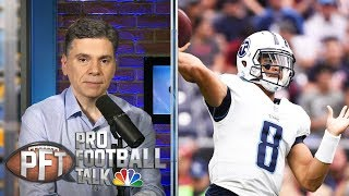 Will Marcus Mariota, Jameis Winston stay with Titans, Bucs? | Pro Football Talk | NBC Sports