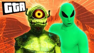 MARTIANS vs EARTHLINGS | GTA 5