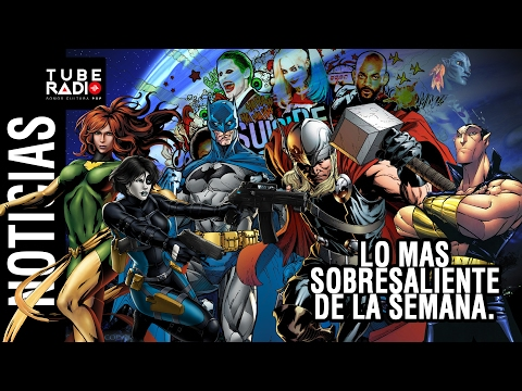 Noticias: The Batman, Namor, Thor Ragnarok, Suicide Squad, Black Panther, Jurrasic World, X-men