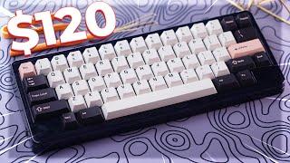 $120 Budget Hotswap Custom Keyboard! - D60 Lite Review