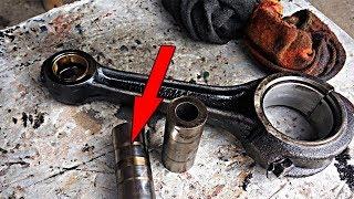Причина стука двигателя д-65 трактор ЮМЗ-6. часть №2 #СельхозТехника ТВ