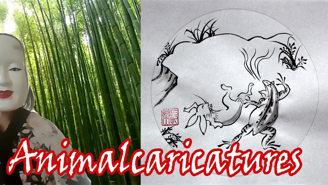 Animal caricatures