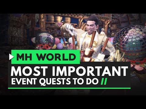 Monster Hunter World | Most Important Event Quests You Need to Do in The Appreciation Festival