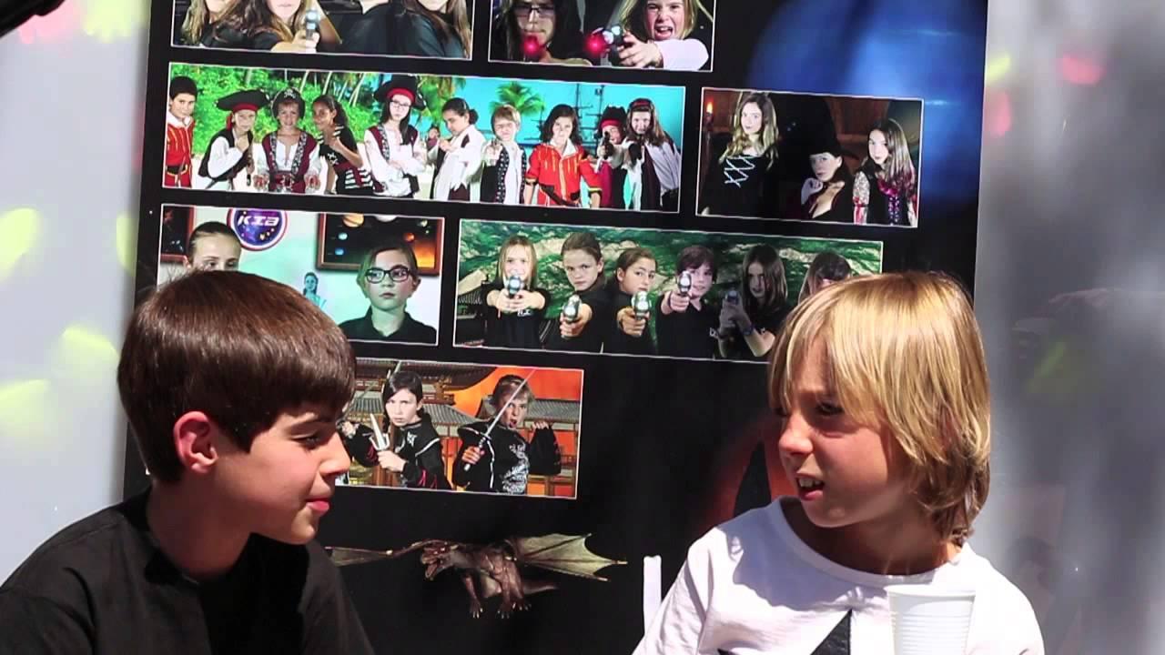 Entrevistas con los Kids in Black - Luis entrevista a Martín