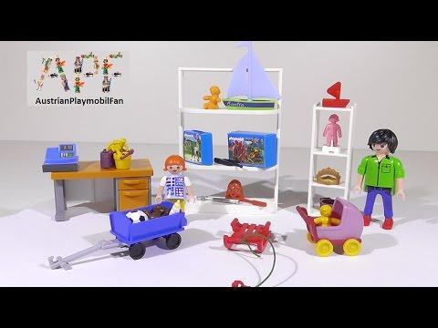 Vidéo PLAYMOBIL City Life 5488 : Magasin de jouets