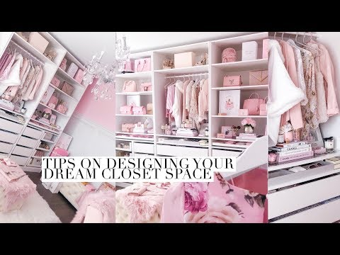 ULTIMATE GUIDE TO DESIGNING YOUR DREAM CLOSET OR BEAUTY SPACE!💕