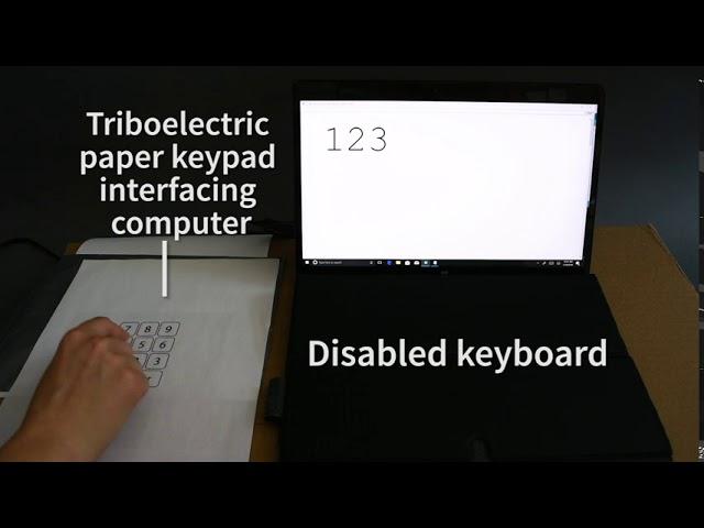 В США разработали клавиатуру, которую можно напечатать на любом листке бумаги