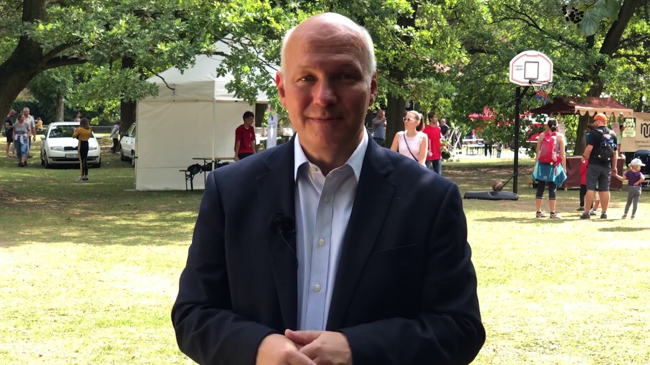 Pavel Fischer na Babím létě v Kunraticích