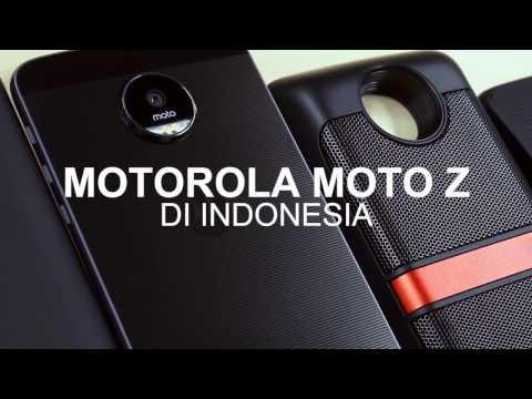 Video Moto Z & Moto Mods Hands-on (Indonesia)