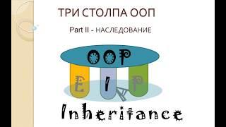 Три столпа ООП. Часть II - Наследование