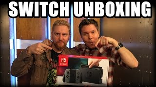 NINTENDO SWITCH UNBOXING! - Happy Console Gamer