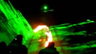 preview picture of video 'Lasershow zur Produktpräsentation 2012 von BlackBo'