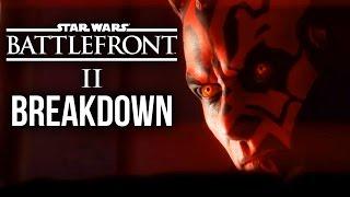 Star Wars Battlefront 2 - INFO BLOWOUT & TRAILER BREAKDOWN