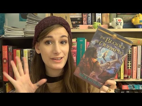 The Blood of Olympus by Rick Riordan: MY JUMBLED THOUGHTS