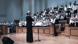"""Бог мой, Ты скала моя"" Youth Choir || Emmanuel Youth Conference 2012"