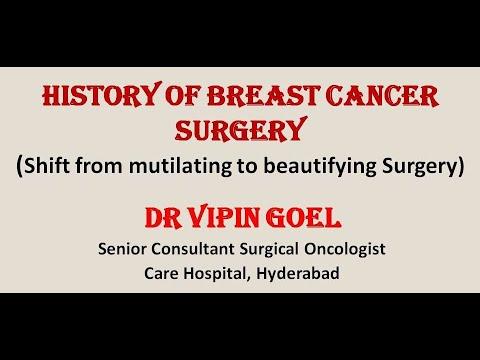 Historia operacji raka piersi (droga od okaleczającej do upiększającej operacji)