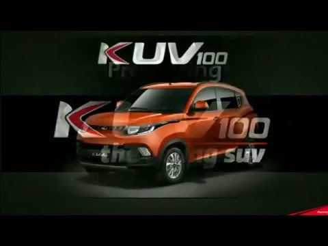 Mahindra KUV100 launch webcast
