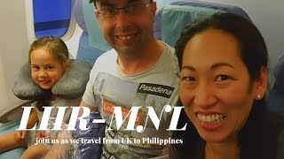 London Heathrow to Philippines on Philippine Airlines