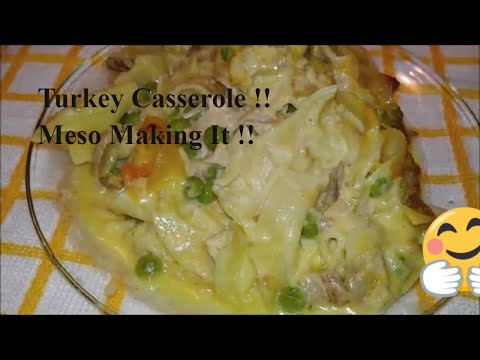 Cheesy Turkey Chicken Casserole: How to make the Best Tutorial