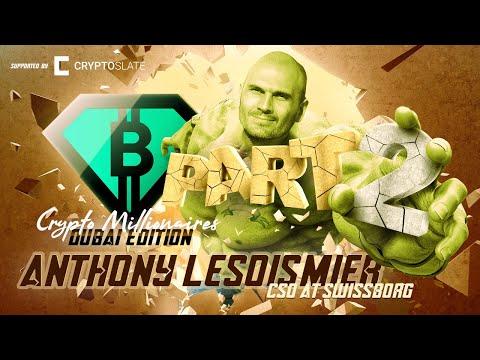 SwissBorg's Anthony Lesoismier shares investing gems for crypto investors