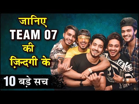 TEAM 07's 10 SHOCKING Unknown Facts | Mr. Faisu, Adnan, Shadan, Faiz Baloch, Hasnain
